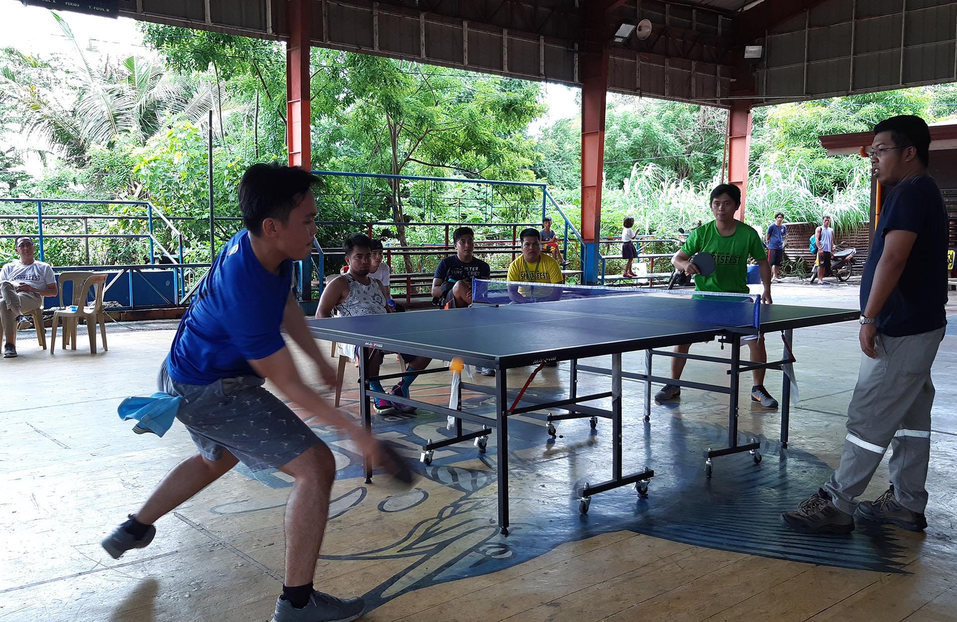 SPI Holds a Month-Long Sports Fest Celebration