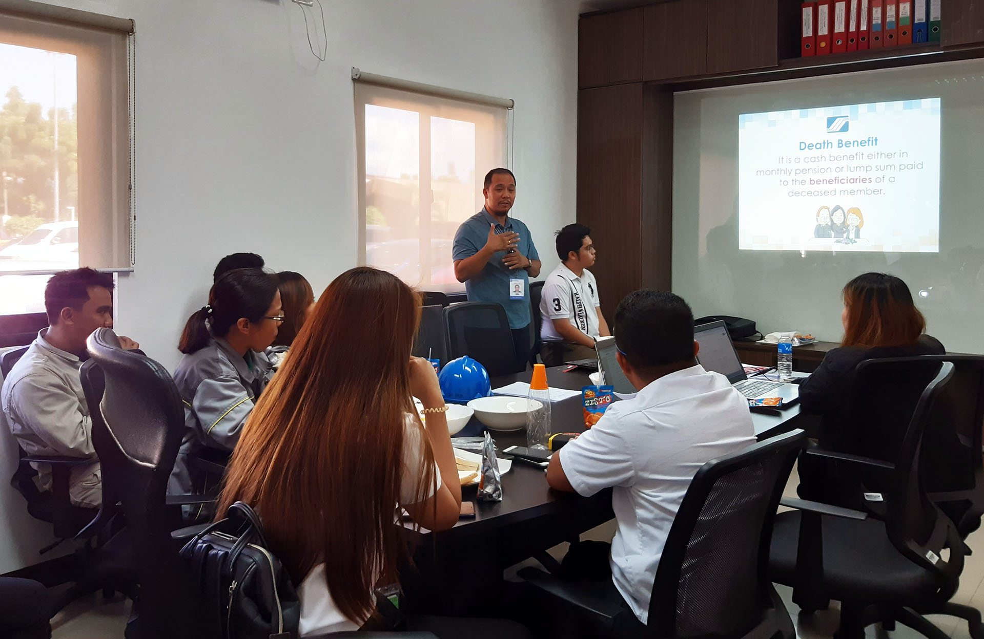 SSS conducts free seminar to SPI employees
