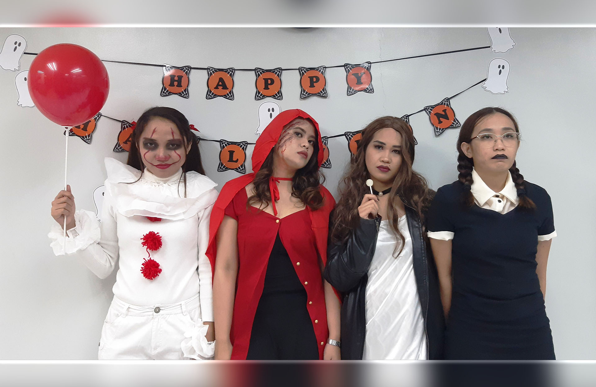 PHOTO RELEASE | SPI celebrates a day of fright