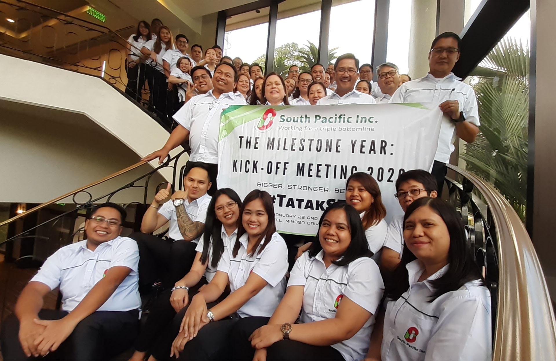 South Pacific Incorporated holds annual kick-off meeting