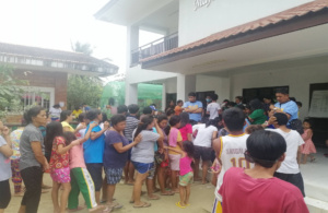 SPI donates goods to Taal